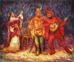 """Faust and Margaret"""