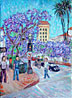 """Jacarandas by the Granada"""