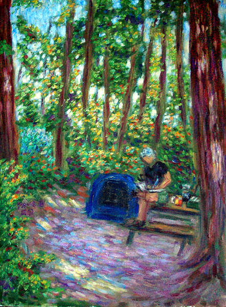 """Paul's Morning in the Redwoods"""