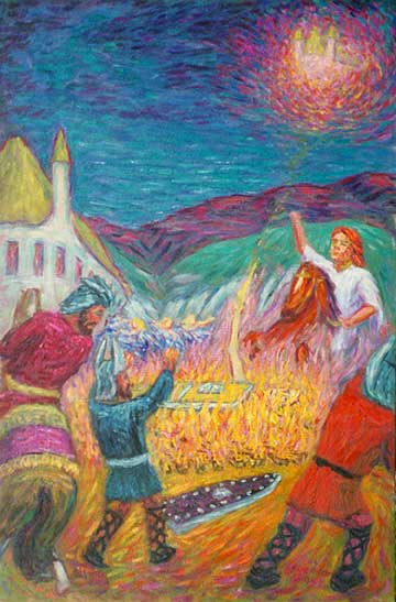 """The Immolation of Brunnhilde"""